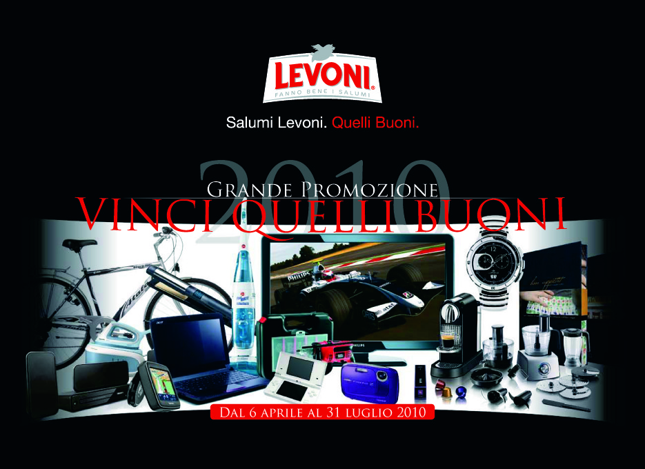 Catalogo premi LEVONI VINCI QUELLI BUONI by Max Marketing