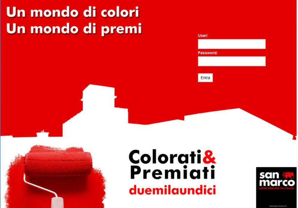 campagna incentive rivenditori COLORATI & PREMIATI