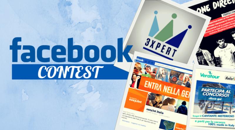 Facebook contest Max Marketing regole, Concorsi a Premi su Facebook