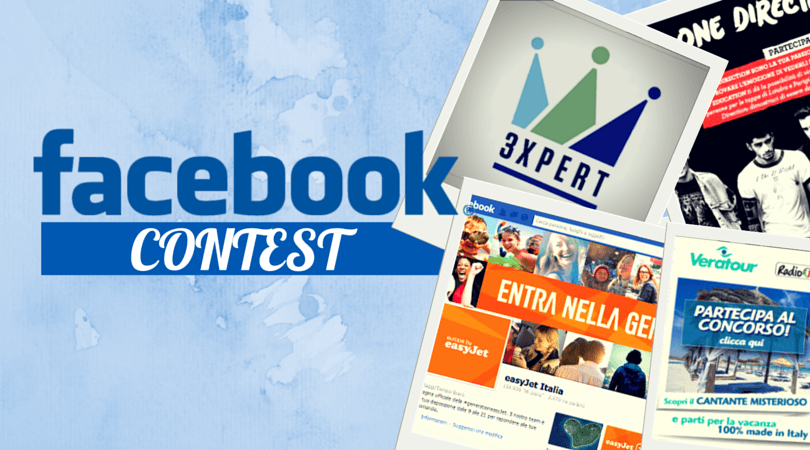 Facebook contest Max Marketing regole, Concorsi a Premi su Facebook
