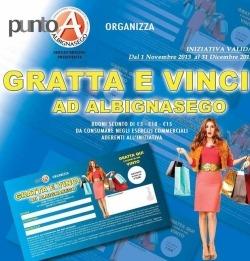 Concorso a premi Associazione Commercianti PUNTO A Albignasego
