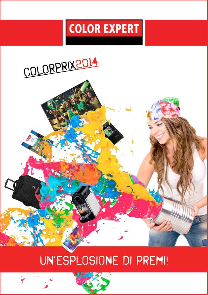 catalogo premi fidelizzazione imbianchini Color Prix 2014