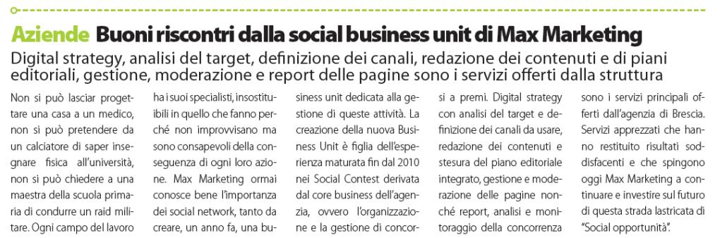 Dailynet Max Marketing Social Media Marketing Brescia