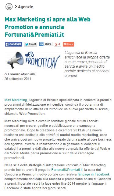 MAX MARKETING WEB PROMOTION