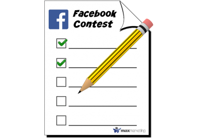 Facebook contest Max MArketing