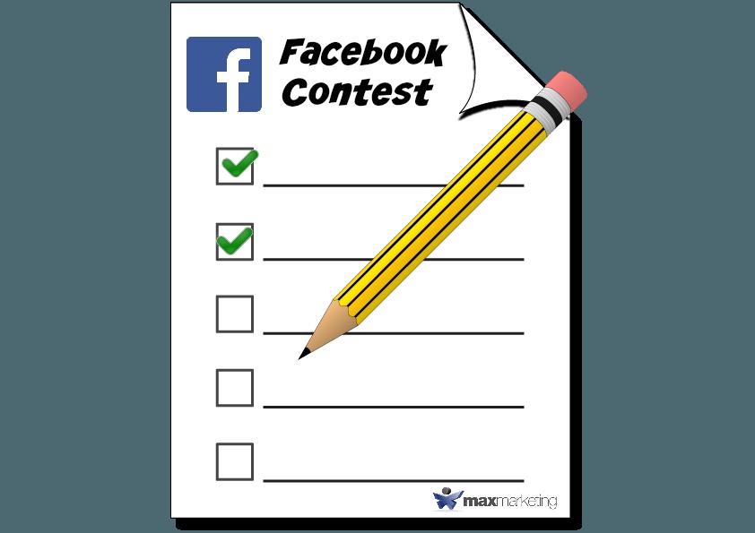 Facebook contest Max MArketing