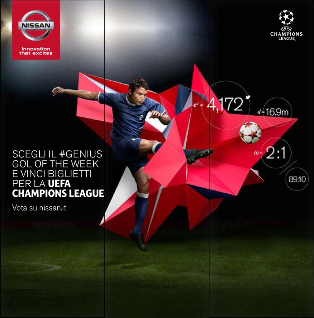 Concorso a premi Nissan Uefa Champions League