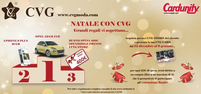 CONCORSO a premi NATALE CVG