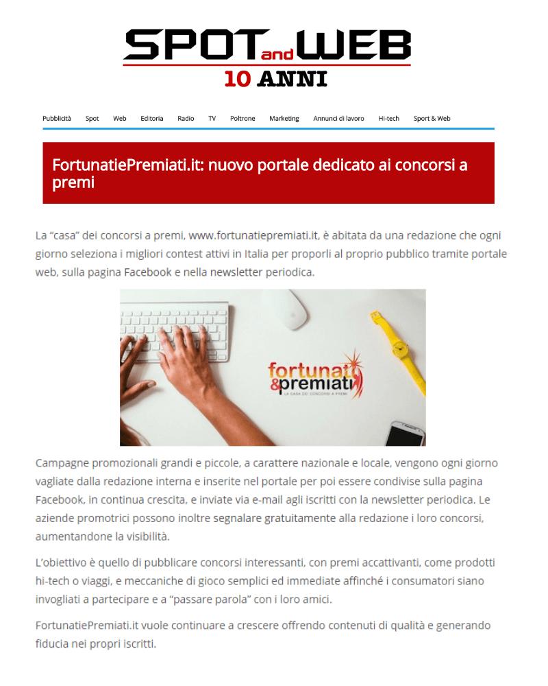 Spot&Web_10marzo2015_fortunatiepremiati