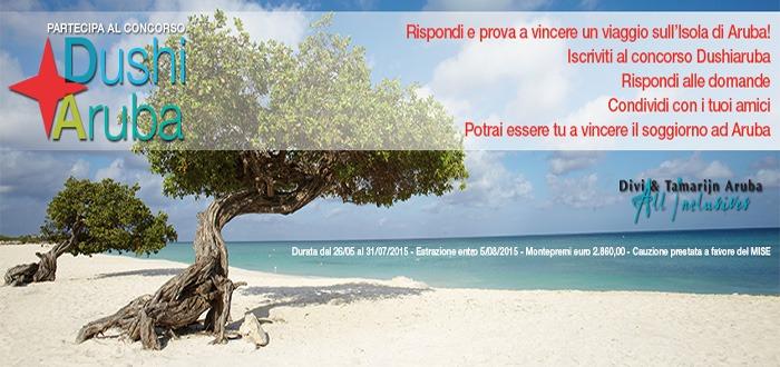 Marketing turistico concorso a premi turismo Dushi Aruba