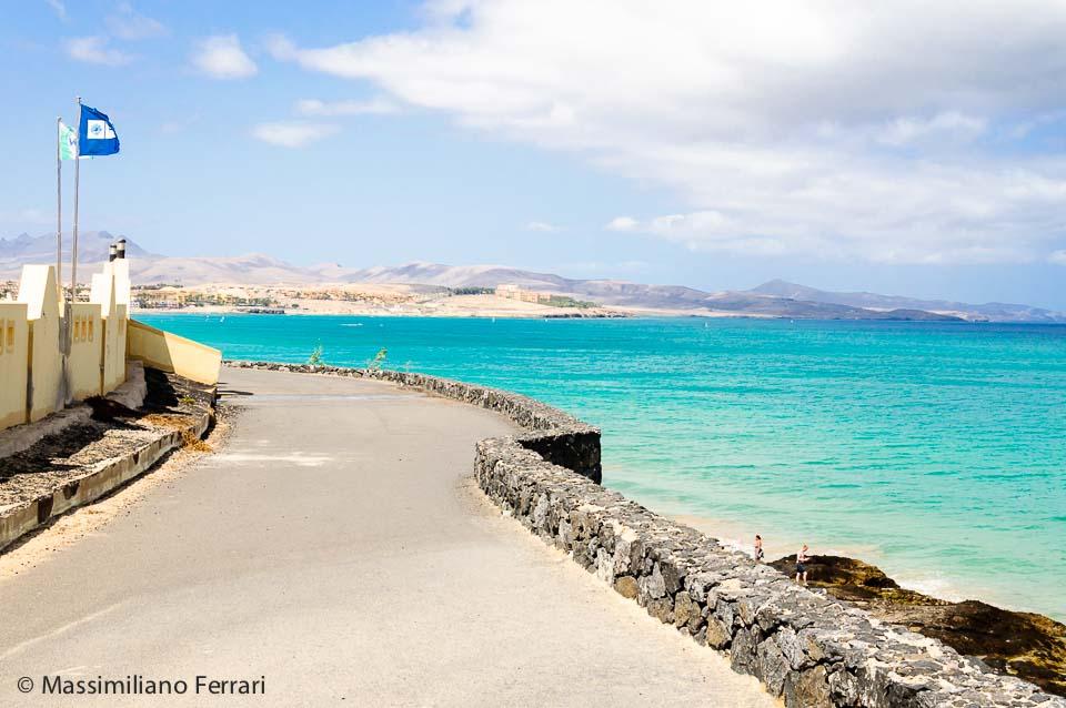 Fuerteventura, Costa Calma: panorama dal Veraclub Tindaya