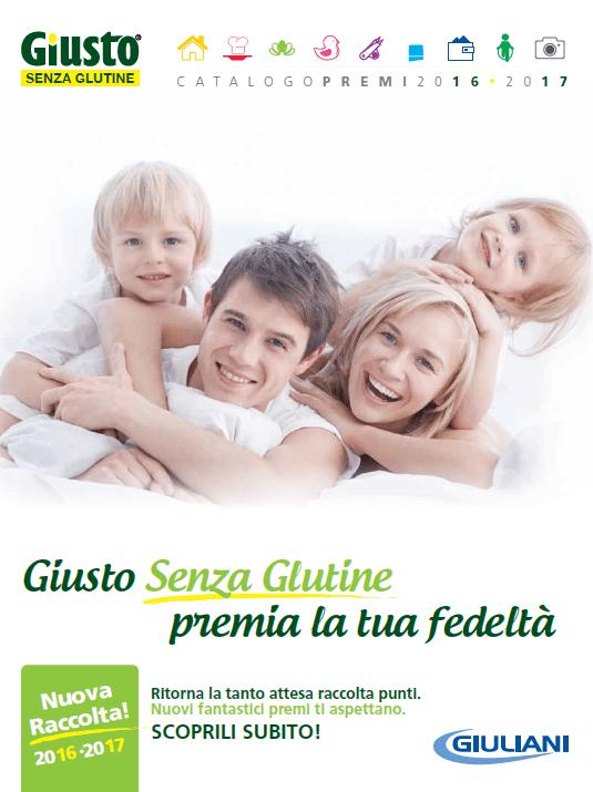 catalogo premi GIUSTO SENZA GLUTINE