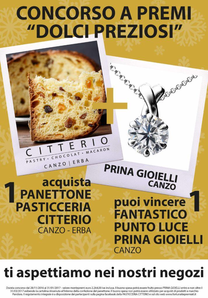 concorso a premi Pasticceria Citterio
