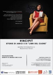INCIPIT-Mostra fotografica di Massimiliano Ferrari Locandina-Concesio