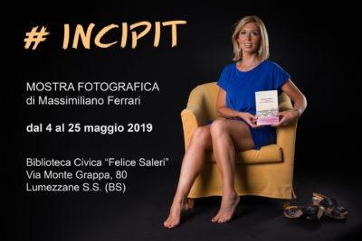 INCIPIT - Mostra fotografica di Massimiliano Ferrari fotografo ritratto Brescia