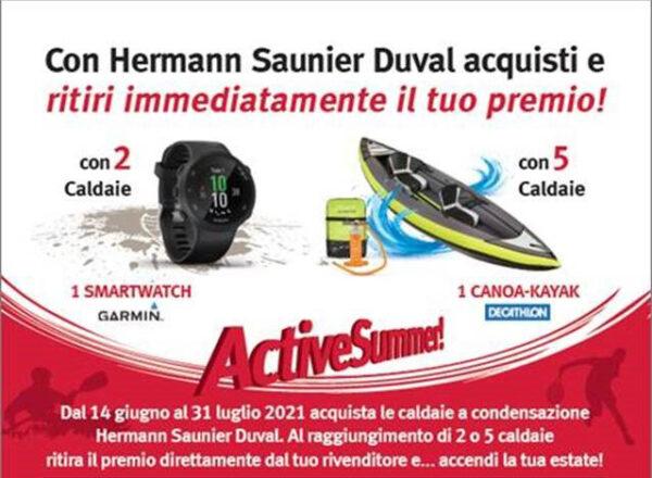 Operazione a premi ACTIVE SUMMER - Hermann Saunier Duval