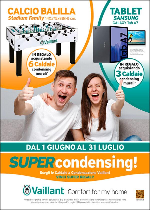Operazione a premi SUPER CONDENSING - Vaillant Group Italia