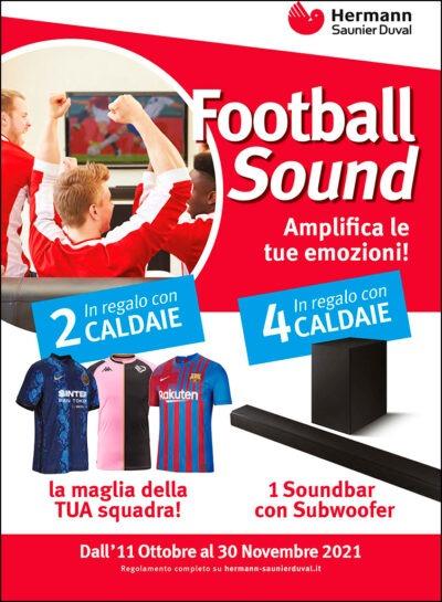Operazione a premi FOOTBALL SOUND - Hermann Saunier Duval
